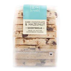 Dark Chocolate & Hazelnuts Shortbread 220g