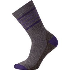 SmartWool Women's Striped Hike Medium Crew Socks - AW16 ** Details can be found by clicking on the image.