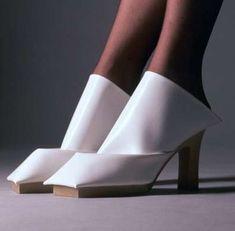 Dutch designer, Marloes ten Bhomers' radical shoes
