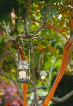 Wedding Ideas / mason jar lantern