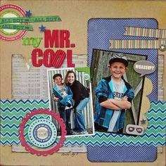 My Mr. Cool - Scrapbook.com