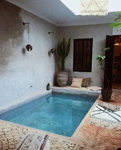 ...#lamaisonmarrakech #pool #paradise #heaven #travel #somewhereiwouldliketolive