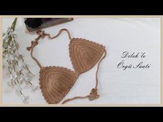 Tığ İşi Bikini Üstü Yapımı / Crochet Bikini Top Making - YouTube Crochet Bikini Top, Bikini Tops, Make It Yourself, Bikinis, Youtube, Bikini Swimsuit, Bikini, Youtube Movies