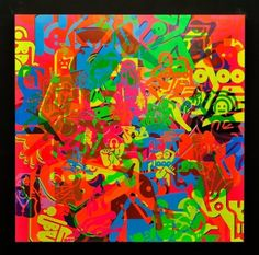 Ryan McGinness – Women: Blacklight Paintings & Sculptures @ Charles Bank Gallery