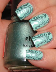 "China Glaze ""Minty"" ...reminds me of the ocean."