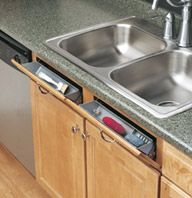 Real Smart - Under kitchen sink space use.