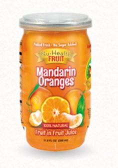 Nu Health Fruit-mandarin oranges