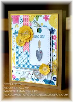 by Heather Klump, Downstairs Designs: Digging you