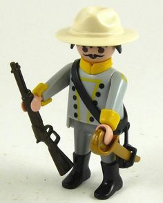 Playmobil soldier