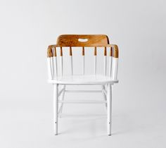 painted wooden chair half - Buscar con Google