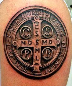 st benedict tattoo - Buscar con Google