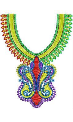 Wedding Special Embroidery Neck Design