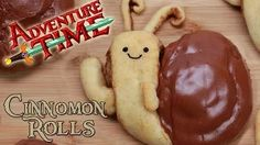 Adventure Time Snail Cinnamon Rolls Thanks, Rosanna (and Josh). Hoorah for Nerdy Nummies! Cinnamon Bun Recipe, Cinnamon Rolls, Adventure Time Birthday Party, Candy Sushi, Good Food, Yummy Food, Creative Desserts, Learn To Cook, Cupcake Cookies