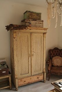 great piece of lovely old furniture ...