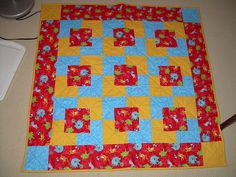 Quilting Projects, Craft Projects, Quilting Ideas, Craft Ideas, Quick Crochet Blanket, Baby Quilts, Children's Quilts, Baby Quilt Patterns, Fancy Nancy