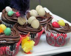 Alma de Azúcar: Cupcakes superchocolateados de Pascua
