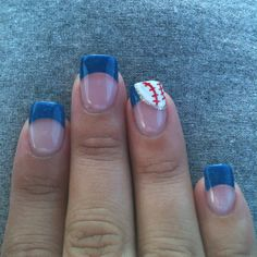 baseball nails, going to try these next