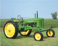 Wall posters are a fun way to spruce up any room in the home. Use this John Deere Vintage Farming Tractor wall art print poster which will surely bring joy into your home and it will be a great addition for your kid's room. This poster delivers a sharp vivid image with a high degree of color accuracy which ensures long lasting beauty of the product. Order today and enjoy your surroundings.