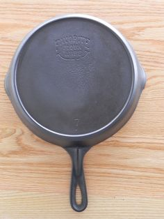 This is a favorite cast iron skillet. They were another cast iron skillet brand...