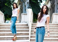 THE ART OF SHOES (by Doina Ciobanu) http://lookbook.nu/look/4002292-Pnk-Casual-Tshirt-Yves-Saint-Laurent-Shoes