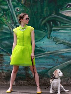 Stylish Ways to Wear Neon For Spring