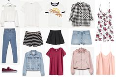 nice summer warderobe/ how to wear outfits fot teens/summer 2017