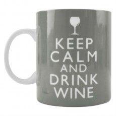 Keep Calm & Drink Wine Mug