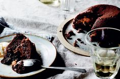Dulce de leche and chocolate peanut butter puddings – Recipes – Bite