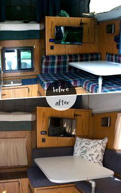 truck camper makeover - Google Search