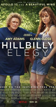 Bo Hopkins, Hillbilly Elegy, Haley Bennett, Shakespeare In Love, Ron Howard, Glenn Close, Amy Adams, Freida Pinto, George Clooney