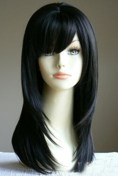 Wigs are the new Hair:) Pretty Hairstyles, Wig Hairstyles, Black Hair Wigs, Corte Y Color, Hair Affair, Great Hair, Hair Today, Hair Dos, Gorgeous Hair