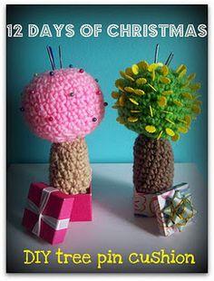 Tree PIncushion--looks like a cactus when it's full.