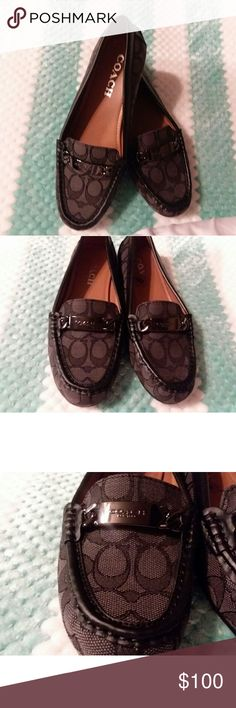 AUTHENTIC COACH LOAFERS.. BRAND NEW NEVER WORN ... These are absolutely amazing shoes..Brand new and never worn.. size 8 womens..  These would make a great Christmas gift for someone special or yourself...🎁🎁🎁 Coach Shoes Flats & Loafers