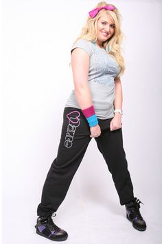 Heart Dance Sweatpants - Black