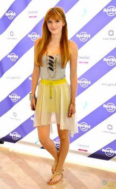 bella thorne in a cute outfit!!!!