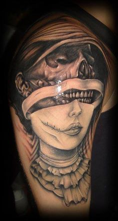 Bad ass piece. I have a cover up on my right arm that's SUPPOSED to look like this, I just need to have David Hallman redo it... then it will look the way it's supposed to be even better