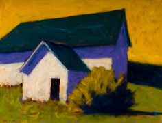 Peter Batchelder - Barn and Shed | Oil | 20 x 26 inches