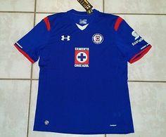 664cd7f70 NWT UNDER ARMOUR Cruz Azul Mexico Soccer Jersey Men s XL Mexico Soccer  Jersey