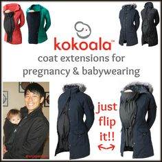 Will you be pregnant or babywearing this winter?? If so, you need to check out my review of Kokoala coat extensions!!! They've included a $50 credit in my $480 value #WinterIsComingGiveaway ending tomorrow night!! #spon