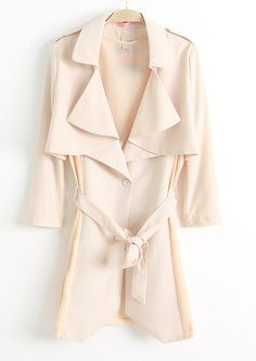 Chiffon trench coat?! Doesn't make much sense, but I adore the cut and the layers!