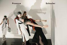 Proenza Schouler F/W 2015-2016   WE ARE SO DROEE