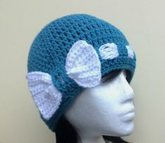 This page has tons of cute crochet hats, free download pattern.