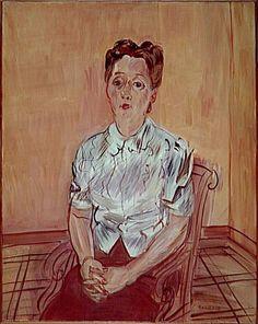 Berthe au corsage de satin Dufy Raoul (1877-1953)