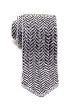 """Chevron Wool Tie by Emporio Armani $225 - $59 @HauteLook. - Allover chevron design - Approx. 2.75"""" width - Made in Italy - Dry clean - 100% lana wool"""