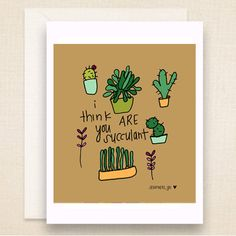 Hey, I found this really awesome Etsy listing at https://www.etsy.com/listing/179164715/humorous-valentines-succulent-plant
