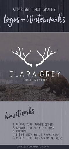 Antler Logo Design / Photography Logo Design