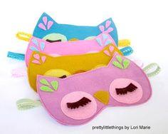 mascara de dormir coruja