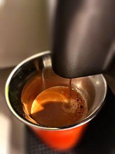 Guten Morgen…aufgestanden alles weiss draussen, da brauche ich erst mal einen #Arpeggio #Kaffee von @Nespresso #whatelse