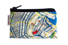 AMSTERDAM Map Wallet by efratul on Etsy