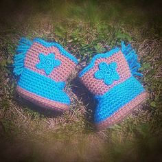 PATTERN Crochet Baby Cowboy boots to fit 0-3 months PDF instant download by JessMakesAMess on Etsy
